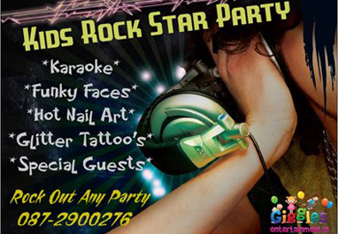 Kids Rock Star Party