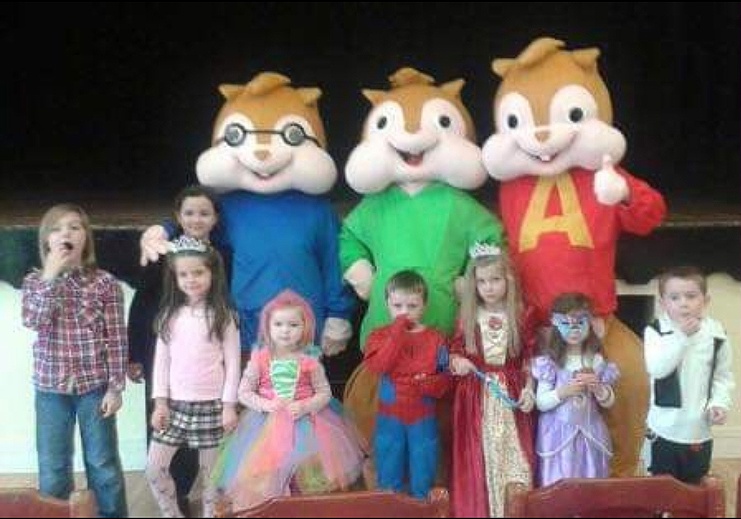Alvin And The Chipmunks Costume Rental Giggles Entertainment Limerick Ireland